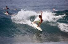 lombok surfing seger beach