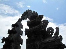 Hindu temple in Lombok