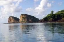 Gerupuk Bay, a surfing spot